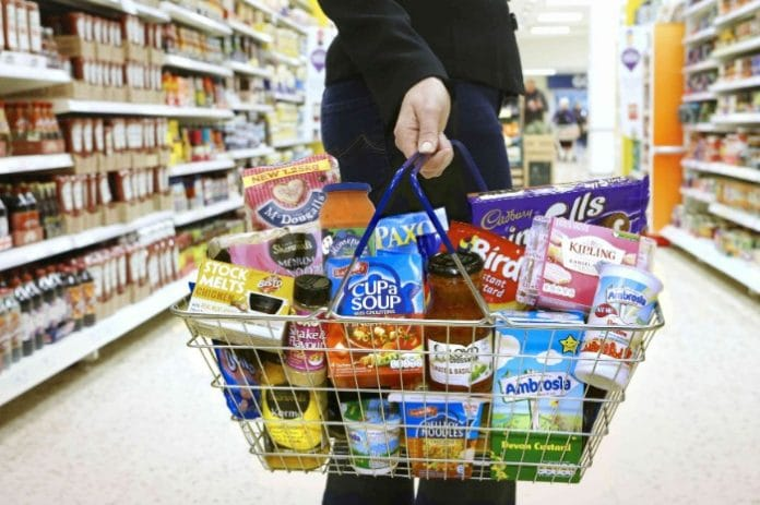 adults feel unsafe at the supermarkets