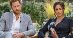 Prince Harry and Meghan and Oprah